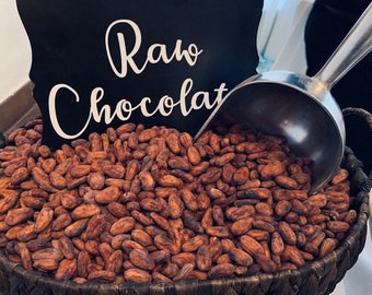 2 Lbs Whole Raw Cacao Beans