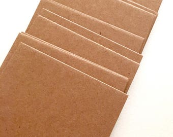 Kraft 2x3 Tags, Cards, Wine Tags, Wedding Cards, Gift Tags, cover Weight Thick Stamping