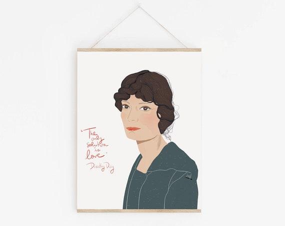 Dorothy Day Portrait