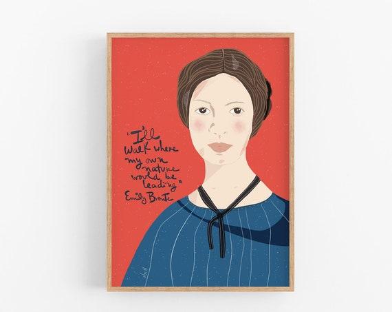 Emily Bronte portrait
