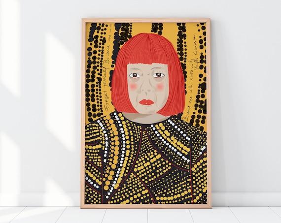Yayoi Kusama | Yayoi Kusama portrait  | Eternity art |