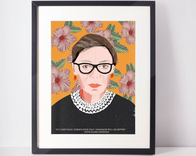 Featured listing image: Ruth Bader Ginsburg Flowers