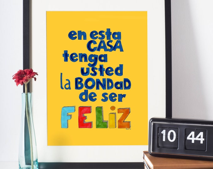 Colorful Office Art | Wall art Print | Cubicle Decor | Typographic design
