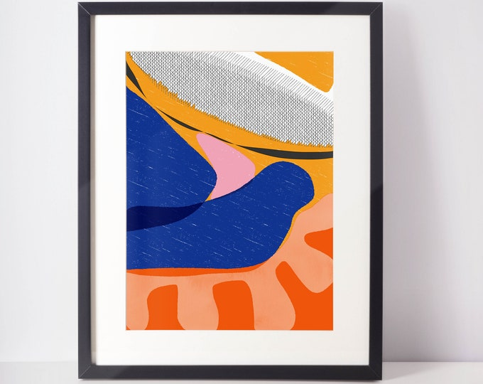 A Wave of Light | Art Print   Lush life | Happy Art