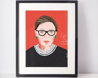 Ruth Bader Ginsburg | Iconic Women | DC Fearless Women