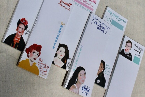 To Do Notepads, Stationary Lover gift