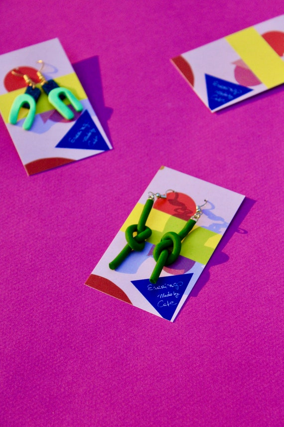 Clay Colorful Earrings