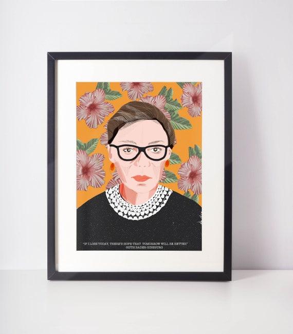 Ruth Bader Ginsburg Flowers