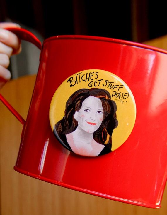 Tina Fey Fridge Magnet