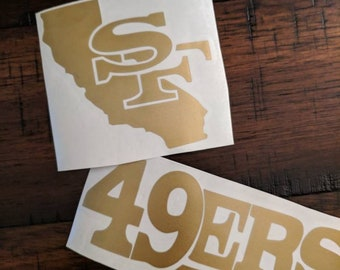 49ers vinyl decal 9d7149811