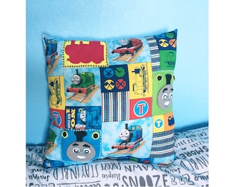 Thomas and Friends Train Adventure Sensory Pillow, Child room, Bedding, Decor, Cushion, bedroom