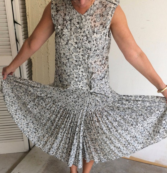 Akira silk crepe dress