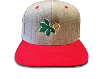 best authentic 2ede5 ff66a Ohio State Hat Snapback Hat Embroidered Baseball Cap Embroidery Mens