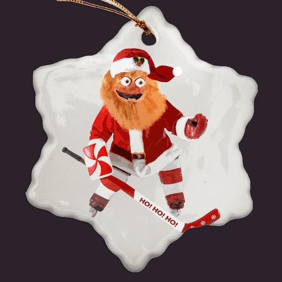 - Gritty Christmas Ornament Hockey Ornament Flyers Mascot Etsy