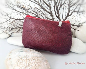 Genuine fish leather wallet