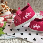 Baby Girl Shoes/Baby Shoes/Infant Shoes/Baby Announcement/Personalized Gift/Personalized Gift/Personalized Baby Shoes/Shoes/Girl Shoes