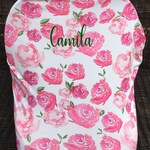 Car Seat Cover/Carseat Cover/Car Seat Canopy/Breastfeeding Cover/Nursing Cover/Floral Car Seat Cover