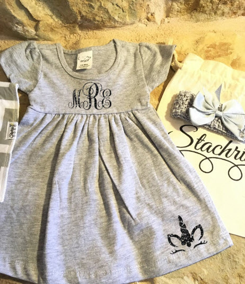Dress/Summer Dress/Girls Dresses/Personalized image 0