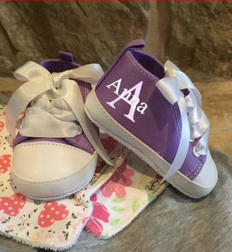 Infant Shoes/Shoes/Baby Shoes/Personalized Baby Shoes/Baby image 0