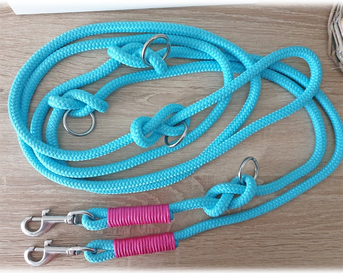 Tau dog leash - adjustable