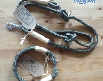Tau Combi-Collar & Adjustable leash-