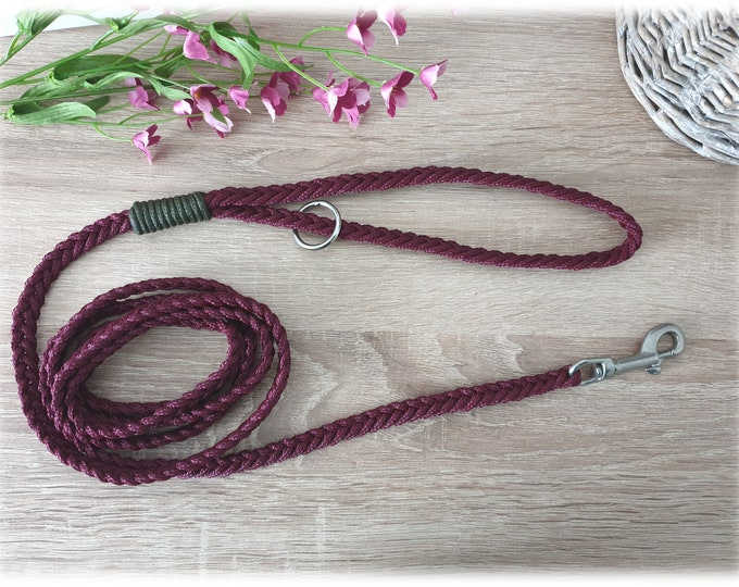 Tau dog leash with hand loop