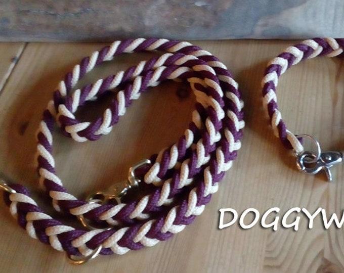 SET Hundeleine & collar TAU-knotted