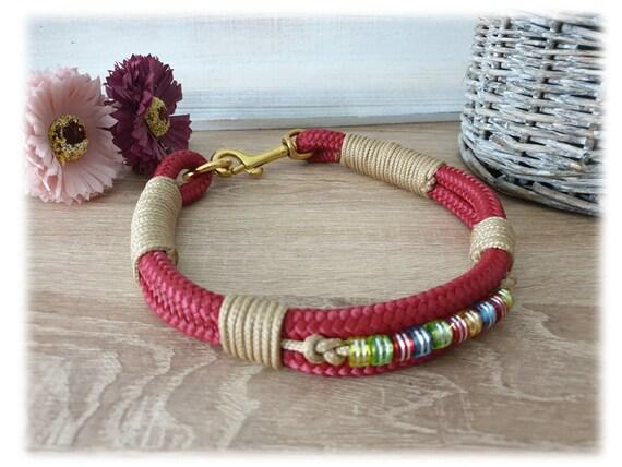 Tau dog collar with Charming