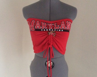 78f5ed2d6b University of Maryland Rouched Tube Top