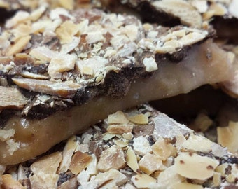 Momma's Almond Encrusted Toffee