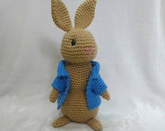 Easy Easter Bunny from Scraps [Free Crochet Pattern] | 270x340