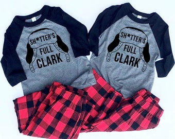 Adult Christmas Pajamas - Matching Christmas Pajamas - Family Christmas shirts - Couples Pajamas - Christmas Vacation - Clark Griswold
