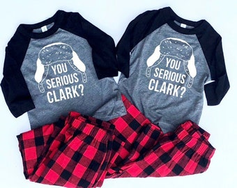 Adult Christmas Pajamas - Matching Christmas Pajamas - Matching Christmas Outfits - Family Pajamas - Dog Pajamas - Christmas Vacation