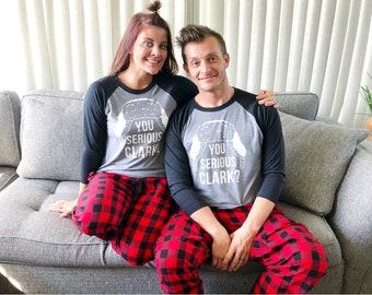 Matching Family Christmas Pajamas - Matching Christmas Outfits - Dog Pajamas - Family Christmas Shirts - Clark Griswold Shirt