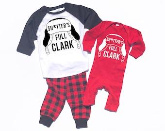 Family Christmas Pajamas, Christmas Vacation shirt, Baby Girl Christmas Outfit, Black Friday Shirt, Clark Griswold, Family Pajamas