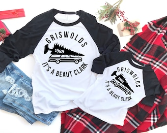 Family Matching Christmas Pajamas, Christmas Vacation, Matching Family Christmas Shirts, You serious Clark Matching Pajamas, Clark Griswold