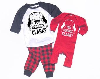 Christmas Vacation, Clark Griswold, You Serious Clark, National Lampoons, Cousin Eddy, Adult Christmas, Family Pajamas, Dog Pajamas