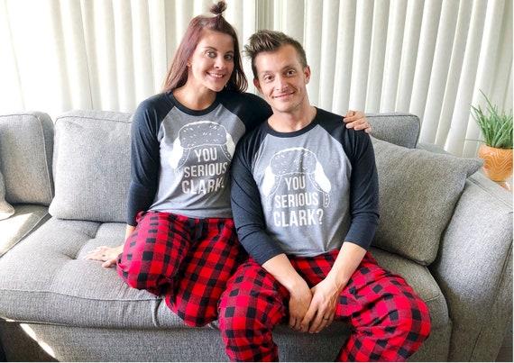 2019 authentisch günstigen preis genießen begehrte Auswahl an Passende Familie Weihnachten Pyjama - partnerlook Weihnachten - Hund Pyjama  - Familie Weihnachten Shirts - Clark Griswold Shirt