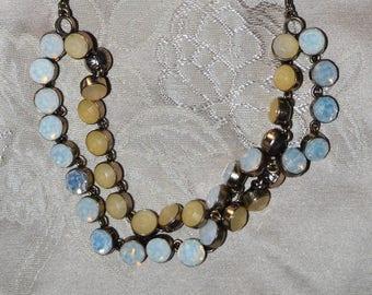Vintage Ann Taylor Crystal Necklace