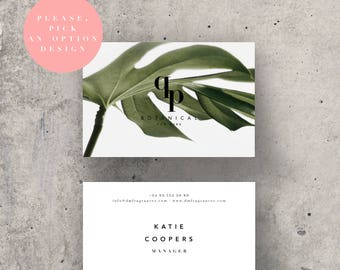 Business Card Design * Premade Business Card Template Calling Card Blush Business Card Printable Business Cards Business Identity Beauty