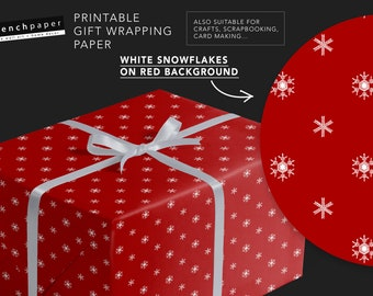 Valentines Day Gift Wrap Paper Printable Wrapping Paper Etsy