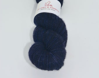 The picture Navy Merino, cashmere and nylon