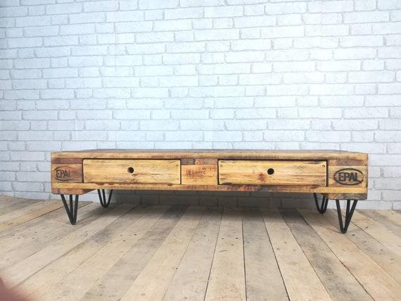 """Lowboard """"Paris"""" / TV cabinet made of pallets / pallet furniture"""
