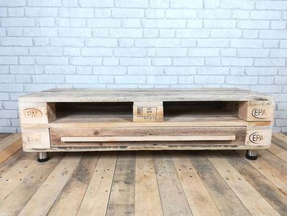 "Lowboard ""Berlin"" / TV cabinet made of pallets / pallet furniture"