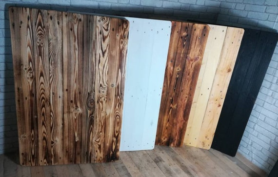 Table top in pallet wood 80,- / pallet furniture