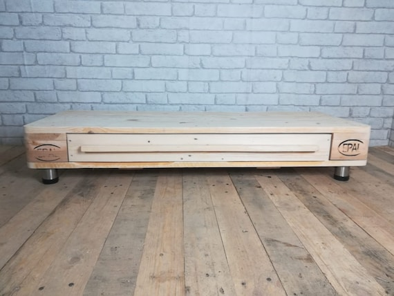 "Lowboard ""Kiev"" / TV cabinet made of pallets / pallet furniture"