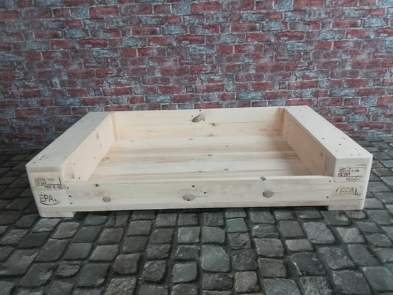 Dog bed cat bed Personalized from pallet wood pallet furniture