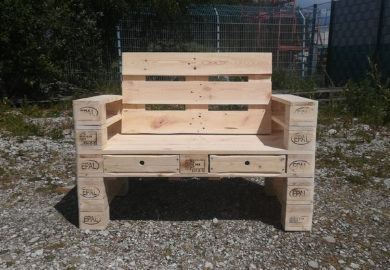 """Pallet bench / garden bench """"Rühle"""""""