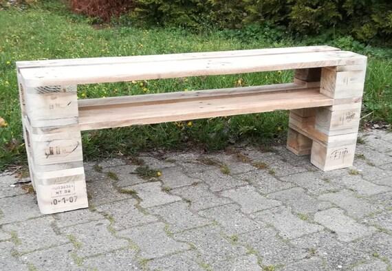"""Shoe rack """"Emmeln"""" with 3 floors of pallets / pallet furniture"""