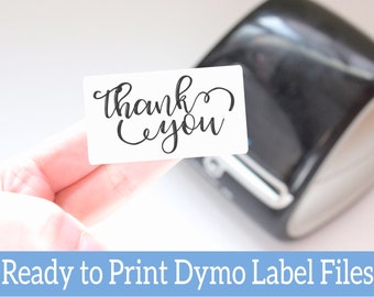 You Rock Customer Appreciation Stickers - Ready to Print Packaging Stickers -Dymo Label Designs -Dymo Compatible Labels for Handmade Sellers